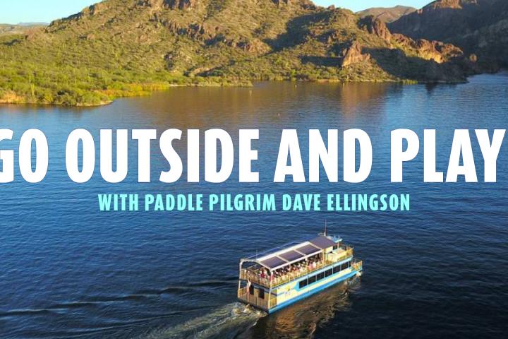 Saguaro Lake Desert Belle Cruise for Go Outside and Play Retreat