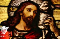 Christ with Lamb image illustrates This Is a New Covenant Touchpoint for Reformation 2021